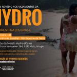 Ato em Oslo – em repúdio aos vazamentos da Hydro em Barcarena