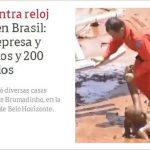 Acidente em Brumadinho é destaque na imprensa internacional