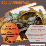 Fórum de Mineração e os Impactos Socioambientais no Piauí traz exposição itinerante sobre os Crimes de Mariana e Brumadinho (MG)