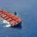 Nota pública da JNT sobre navio carregado de minério da Vale encalhado próximo à costa maranhense