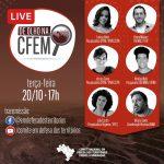 LIVE De Olho na CFEM Terça (20/10) 17h