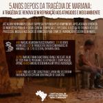5 ANOS DEPOIS DA TRAGÉDIA DE MARIANA