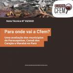 Para onde vai a Cfem?Uma avaliação dos municípios de Parauapebas, Canaã dos Carajás e Marabá no Pará