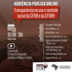 Câmara debaterá transparência e controle social da Cfem e Cfurh no dia 1º de junho